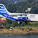 Ellinair Britisch Aerospace AvroRJ85 SX-EMS by SjPhotoworld