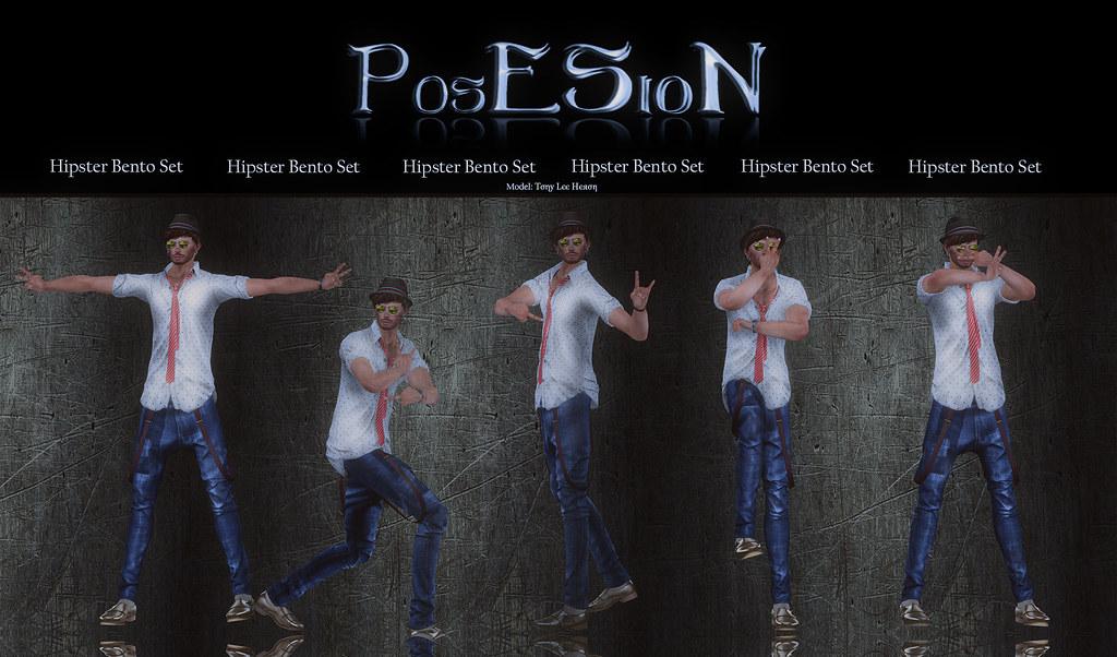 *PosESioN* Hipster Bento Set - SecondLifeHub.com