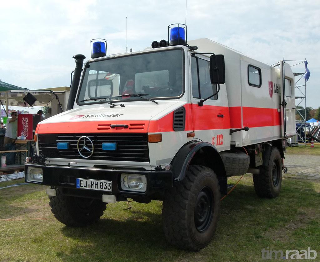 Mercedes-Benz Unimog U 1300 L - Malteser Hilfsdienst | Flickr