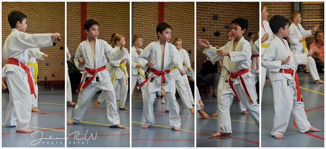 Karate examen