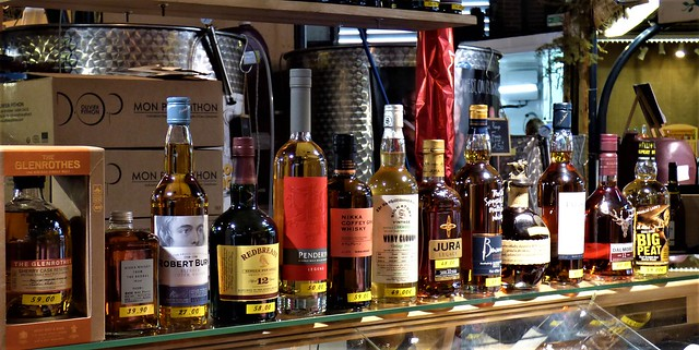 France: whiskey and whisky prices in Cahors, May 2017