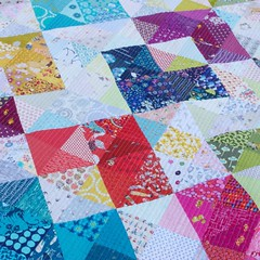 Heart Value quilt up on the blog today.