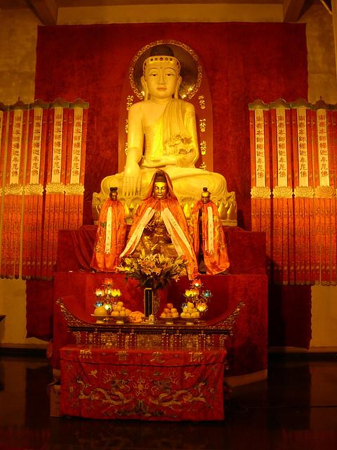 Bouddha de jade au Temple de Jing'an