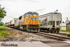 UP 4878 | EMD SD70M | UP Hulbert Industrial Lead