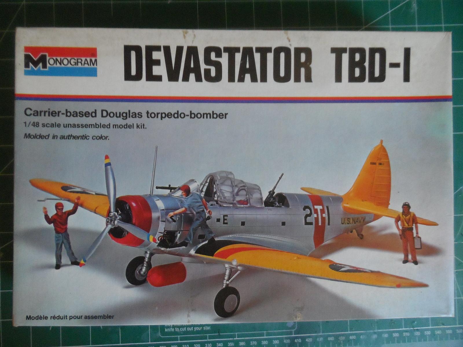 Monogram Douglas TBD-1 Devastator