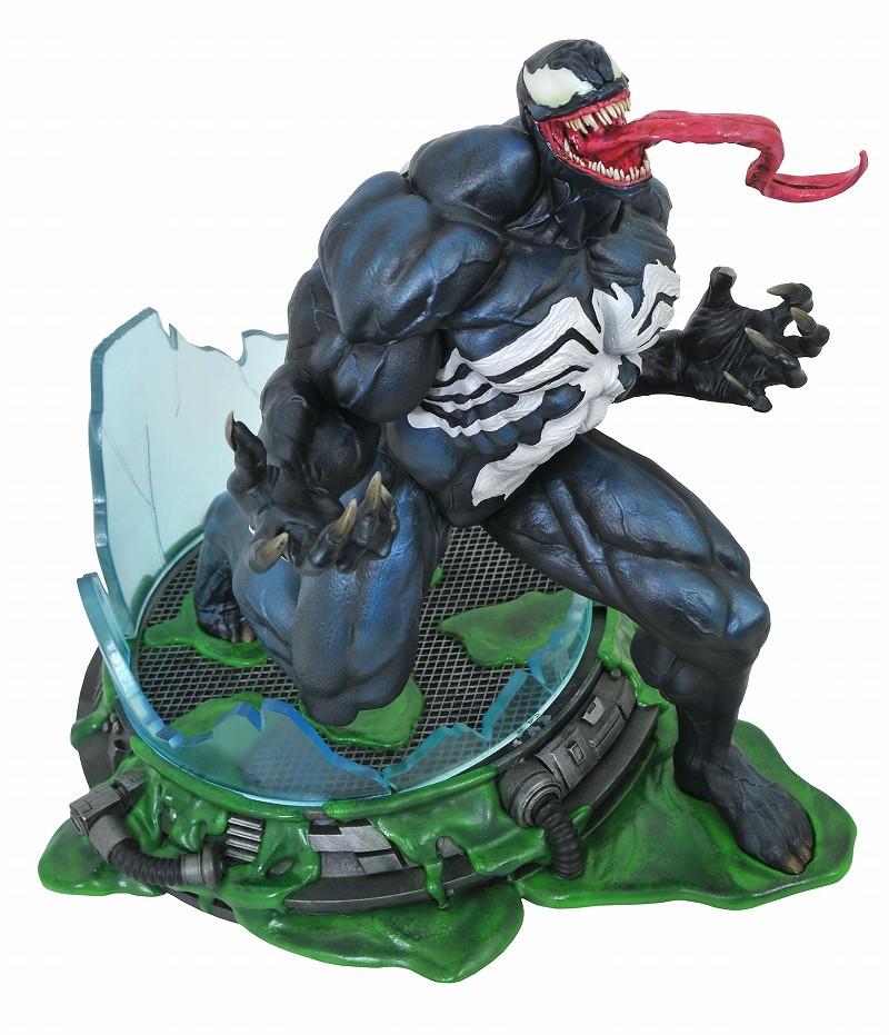Diamond Select Toys Marvel Premier Collection 系列【猛毒】Venom 場景雕像作品