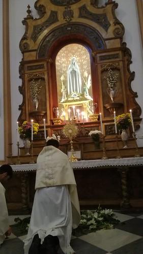 Procesión claustral Corpus antiguo Berja 2017
