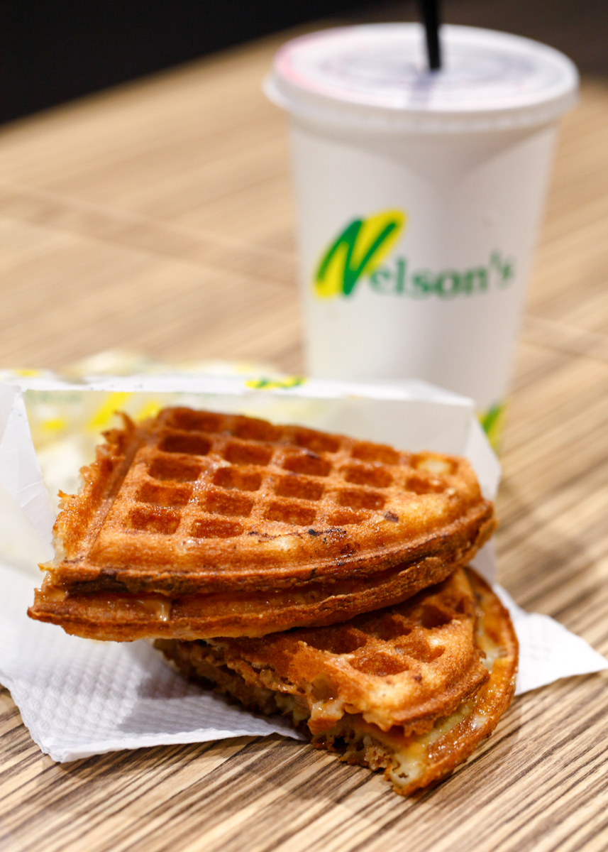 Nelson's Waffle and Drink