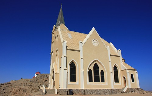 Flesenkirche _ Church on the rocks - Luderitz Namibia (3)
