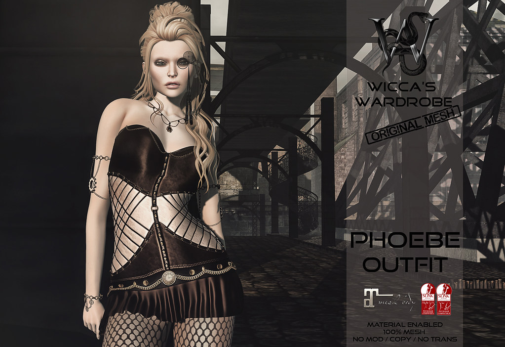 Wicca's Wardrobe @ We ♥ RP June 2017 - SecondLifeHub.com