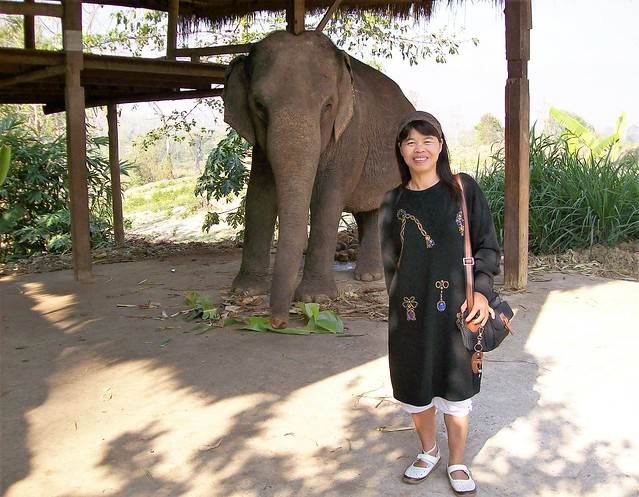 Thai Lady and Friend