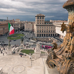 Rome from the Altar of the Fatherland