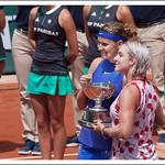 Les championnes 2017 du double femmes