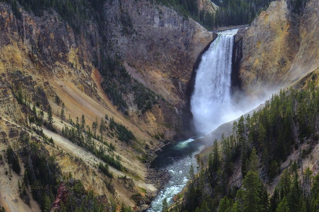 Lookout Point, Yellowstone Canyon