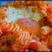 Pisto con pasta / Ratatouille with pasta