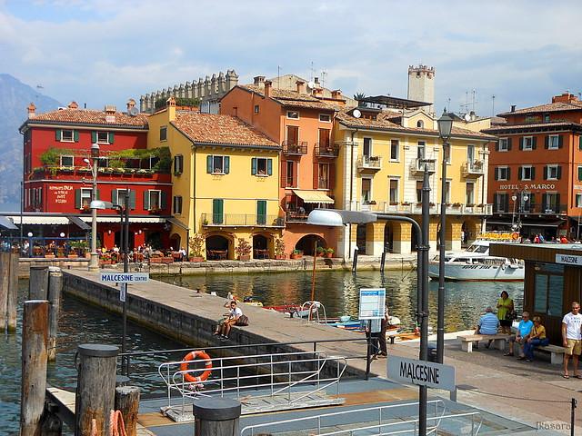 Malcesine, wharf - Lake Garda