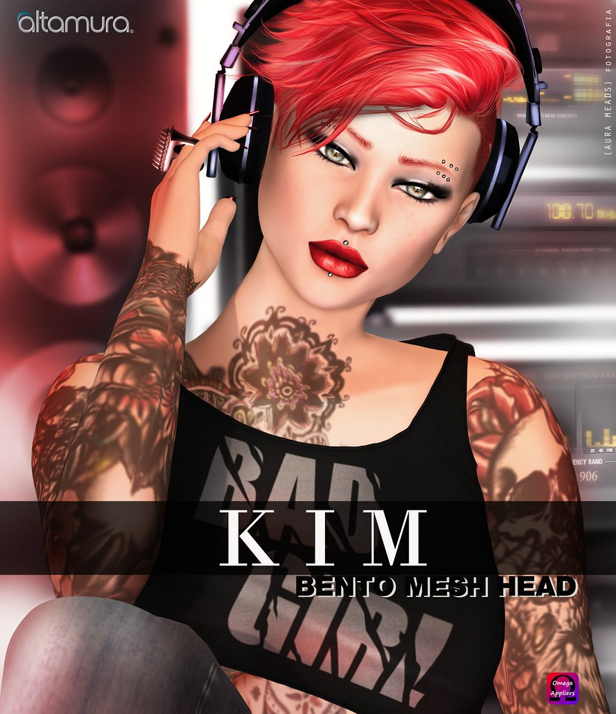 "Altamura: ""KIM"" BENTO Head - Coming Soon Exclusive @ eBento 2017 - SecondLifeHub.com"