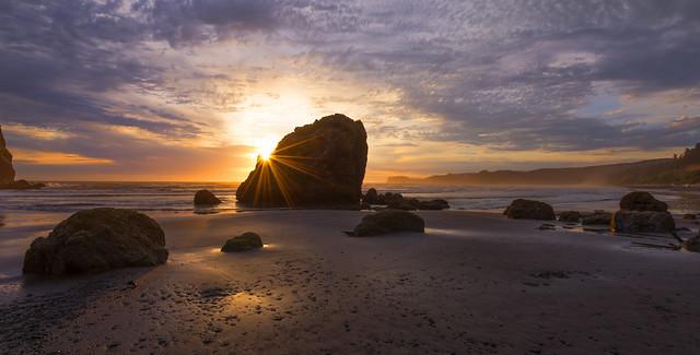 Sunset at the Ocean (Olympic Peninsula, WA)