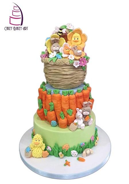 Cake by Cakey Bakey Art (Sugarcraft School)