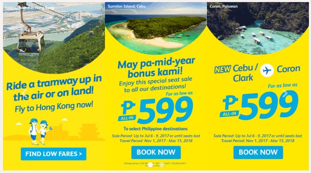 Cebu Pacific Air Promo Special Seat Sale