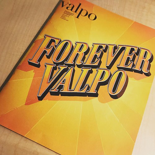 The VALPO Magazine is here! Look for copies in mailboxes and online soon. #GoValpo #ForeverValpo