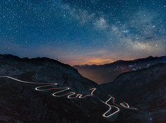 A night on the St. Gotthard Pass