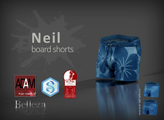 Neil boardshorts @ MOM June