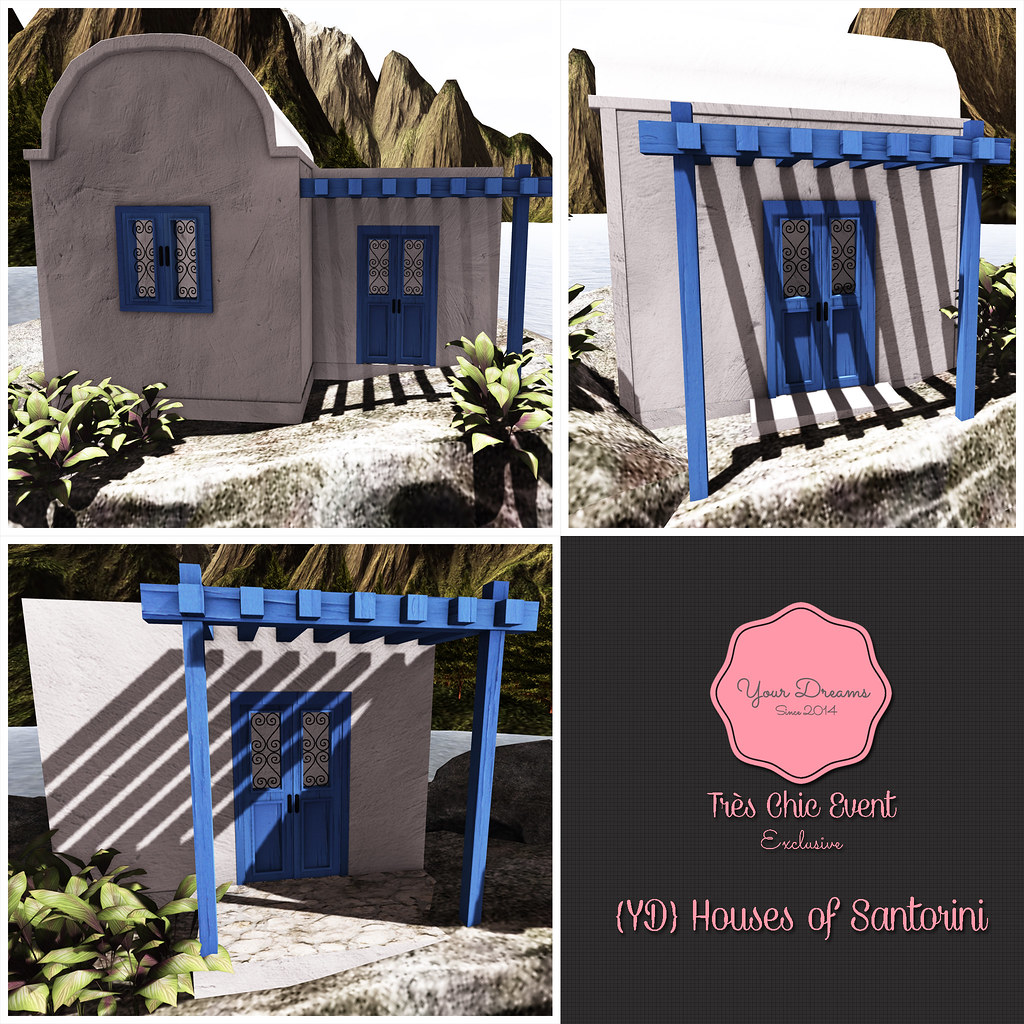 {YD} Houses of Santorini - SecondLifeHub.com