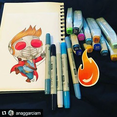 #Repost @anaggarciam ・・・ Thanks @otakufuel for an awesome service as always!! Love my new Copic haul and as like Star Lord im ready to dance too! . We ship to the USA and Canada only. @otakufuel is an AUTHORIZED COPIC DEALER trusted and backed by @copicma