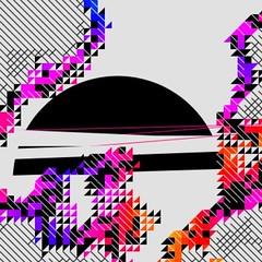 Unexpectedly corporeal /54/ / #processing #generative #code #digitalart #algorithmicart #cg #abstract