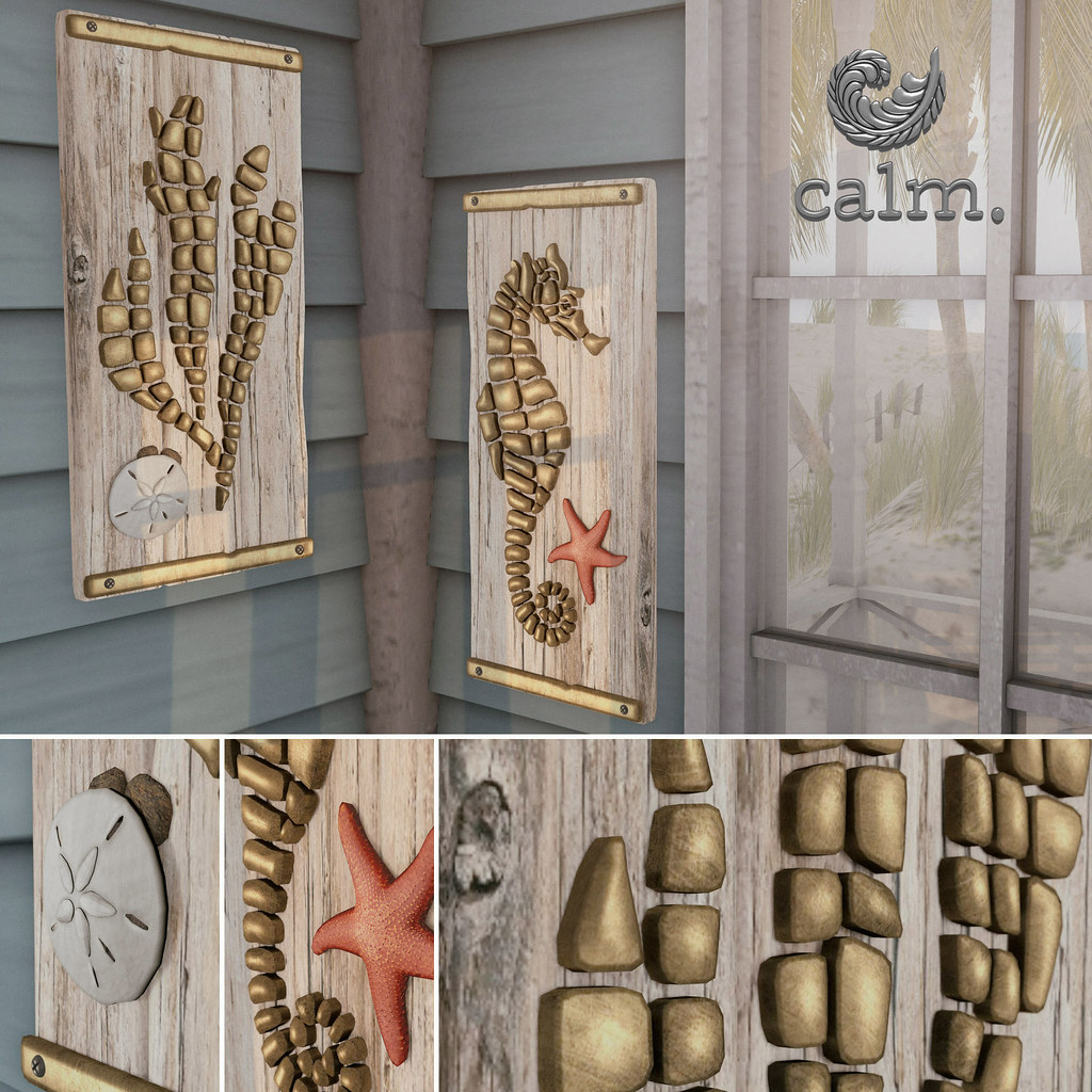 Calm. IL Mare - wall art - SecondLifeHub.com