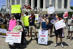 DC United Against Hate Rally 2
