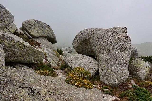 Sculptural granite