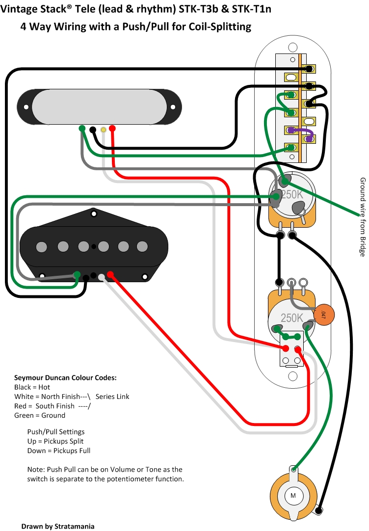 Natural Ash Tele Telecaster Pickup Wiring Diagram Stack By Stratamania On Flickr