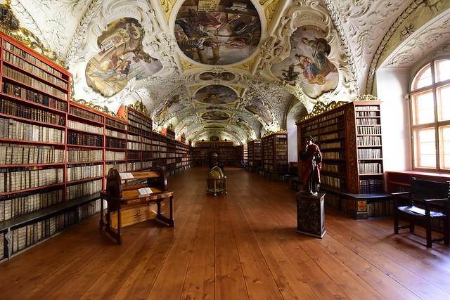 Theological Hall (Teologický sál), Strahov Monastery, Prague, Czechia, June 12, 2017 658