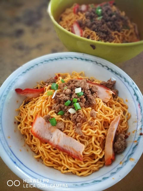 Kuching Kolo Mee Red Sauce