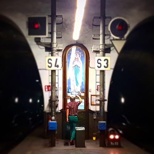 Roma: Madonna alla stazione Flaminip