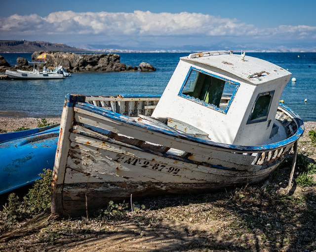 The Old Fishing Boat (Tabarca, Spain 2016)