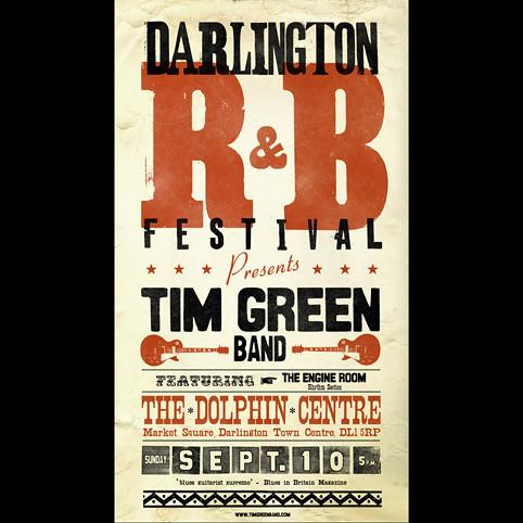Tim Green Darlington RnB Festival