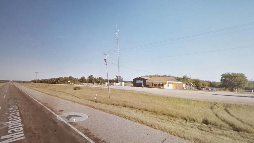 Rolling past Sidney, Manitoba. #ridingthroughwalls #xcanadabikeride #googlestreetview