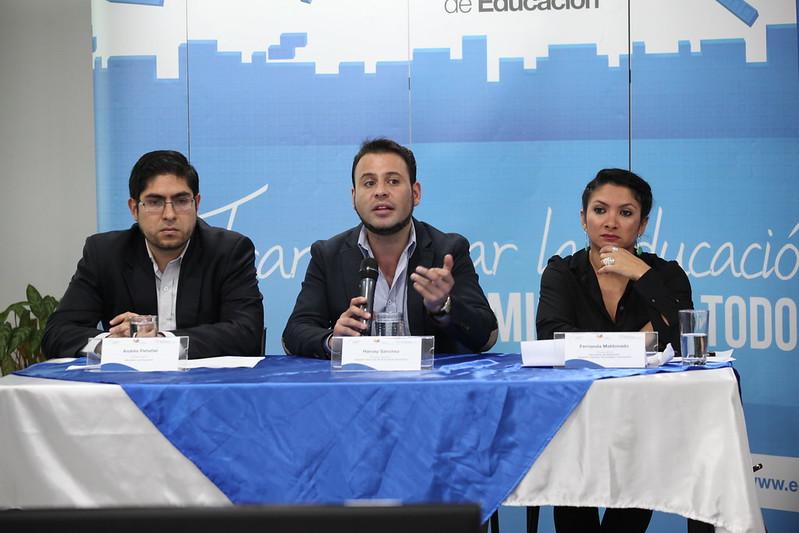 Rueda de prensa - Ministerio de Educación, Instituto Nacional de Evaluación y las Secretaría de Educación Superior Cienca, Tecnología e Innovación