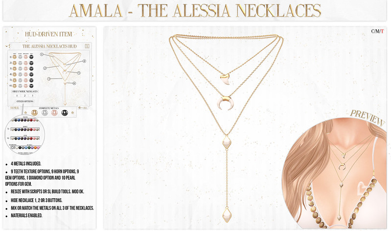 💗 Amala - The Alessia Necklaces for Summerfest 💗
