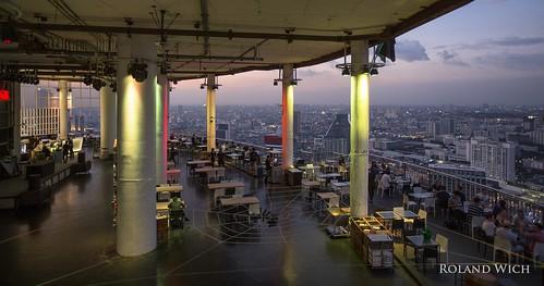 asia south east southeast thailand thailande bangkok silom rooftop bar cloud 47 view