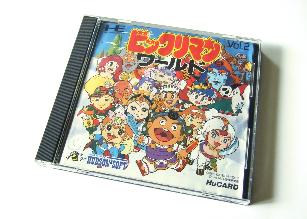 Bikkuriman World (PC Engine)