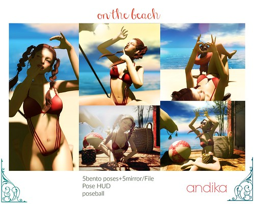 andika bento posepack[on the beach]-AD