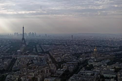 france m9 paris montparnasse tour tourist tourisme visit visite view vue panorama city ville monument nicolasthomas sky ciel evening soir nuages clouds light lumière