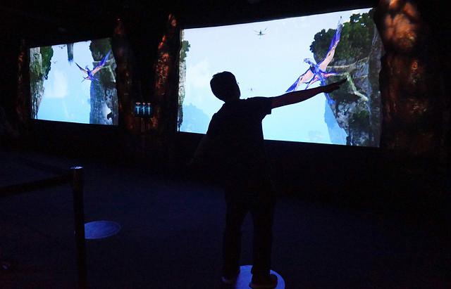 ฝึกควบคุมตัวแบนซี่ จากในหนัง Avatar