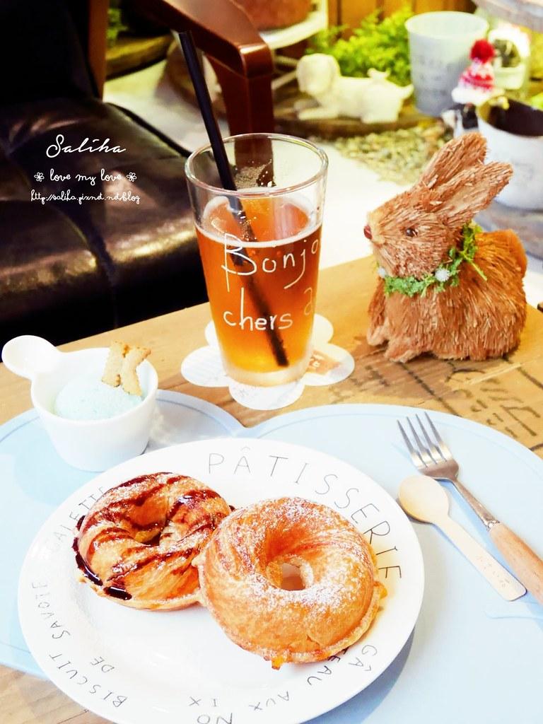 台中市西區夢幻咖啡館餐廳下午茶推薦PUGU 田園雜貨  (1)