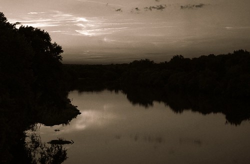 river rappahannock virginia fredericksburg landscape pictorialism impressionist monochrome tint