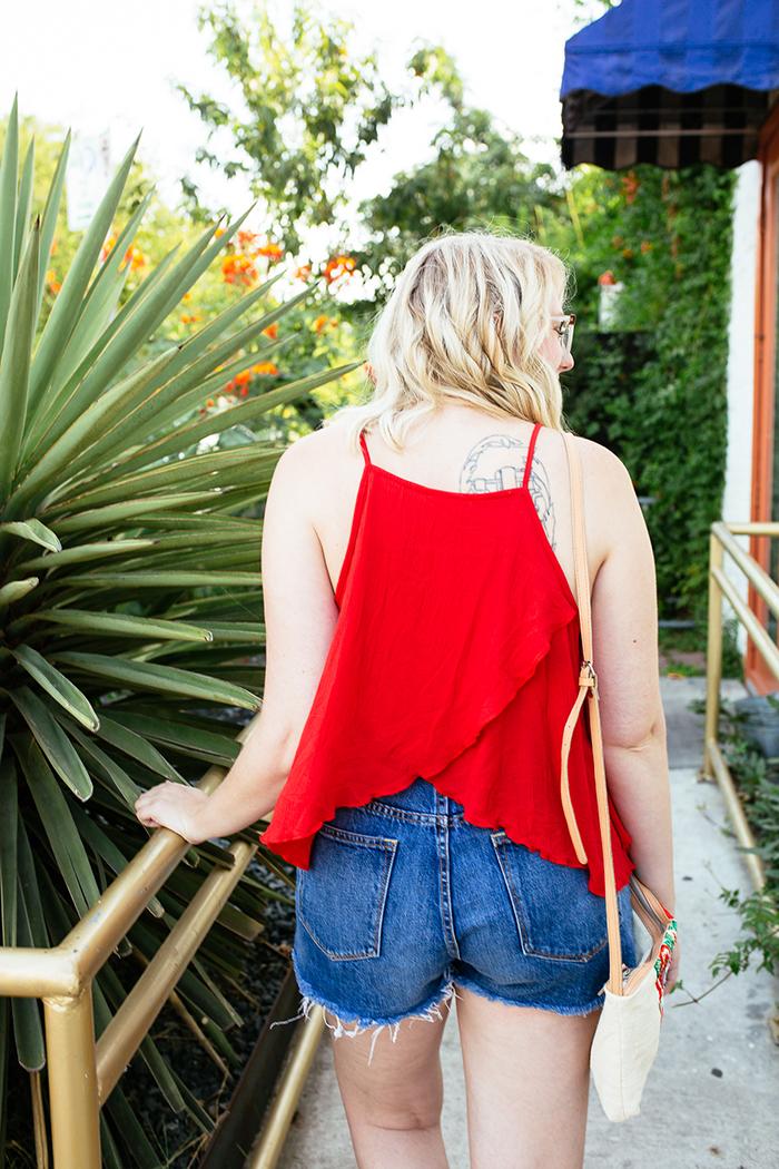 austin fashion blogger writes like a girl red tank top15